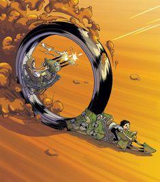 The Character Design Challenge! Futuristic Motorcycle, Futuristic Art, Arte Sci Fi, Sci Fi Art, Character Concept, Concept Art, Art Et Illustration, Cyberpunk Art, Arte Pop
