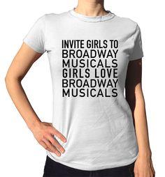 Invite Girls To Broadway Musicals