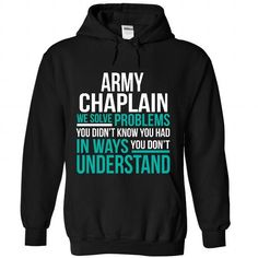 Army Chaplain - #clothing #cute t shirts. BUY-TODAY => https://www.sunfrog.com/Funny/Army-Chaplain-5422-Black-Hoodie.html?id=60505