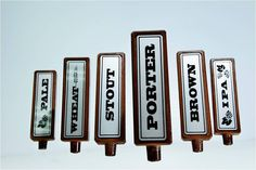 """Craft Beer Hound - Contemporary """"To The Style"""" Tap Handle Set"""