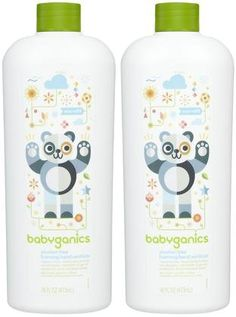 Babyganics The Germinator Alc. Free Foaming Hand Sanitizer Refill - Frag. Free - 16 oz - 2 Pk