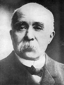 1914 1918 - Georges Clemenceau, (1841-1929), Président du Conseil(1917-1920); - France
