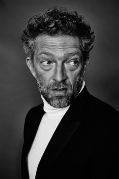 Vincent Cassel, by Max Vaduul