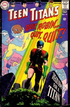 Cover for Teen Titans (1966 series) #14