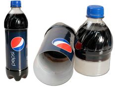 Hide your cash, jewelry, and other valuables in plain sight! Use the Pepsi Bottle Safe Stash Bottle to keep your valuables safe in plain sight! Secret Hiding Places, Hiding Spots, Hidden Places, Hidden Compartments, Secret Compartment, Secret Storage, Hidden Storage, Geocaching, Secret Safe