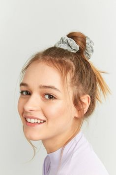 Shop Crushed Velvet Scrunchie Hair Band at Urban Outfitters today. We carry all the latest styles, colours and brands for you to choose from right here.