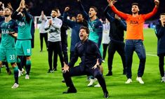 Mauricio Pochettino said his Tottenham players were superheroes after they came back from down to win their Champions League semi-final second leg at Ajax Amazing Comebacks, Lucas Moura, Champions League Semi Finals, Mauricio Pochettino, Spurs Fans, Words That Describe Me, Harry Kane, Strong Hand, Tottenham Hotspur Fc