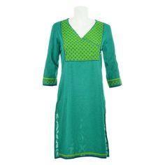 Office Wear, Kurtis, Boho Dress, Ethnic, Short Sleeve Dresses, Silk, How To Wear, Cotton, House