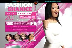 Fashion Conference Flyer Template by SeraphimChris on @creativemarket