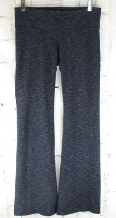 3a63c72a89 Athleta womens M Medium PowerLuxe Revelation Gray Space Dye Boot Yoga Pants  #Athleta #ActivewearPants