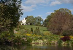 View from The Pond Garden to Chanticleer House.