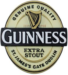 a066c97a12d Amazon.com  Guinness® Label Resin Magnet  Kitchen   Dining