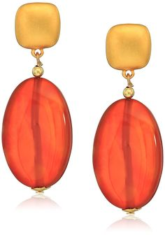 Buy Satin Gold Top Carnelian Teardrop Earrings - and Find Large Selection of Designer Jewelry at Best Prices Teardrop Earrings, Dangle Earrings, Gold Top, Jewelry Organization, Carnelian, Designer Earrings, Jewelry Watches, Dangles, Fashion Jewelry