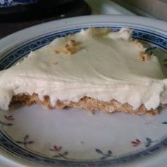 Easy white chocolate cheesecake @ http://allrecipes.co.uk