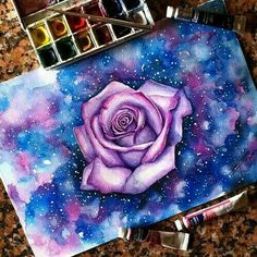 Imagem de art, rose, and flowers