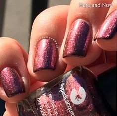 Lilypad Lacquer Here and Now, from the This Life Collection. Released Fall/Winter 2015 (pinned from Almost Famous Nails)