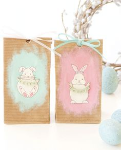 """Hopefully these characters bring joy to you and remind you of togetherness and fond memories. The little bags can be used for decoration or bags of candy for kids to find and enjoy."" – Meghan Horan. Find this tutorial and more in Somerset Holidays & Celebrations 2013."