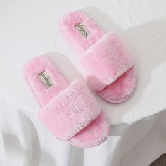 Women Plush Slippers Winter Fluffy Slides Faux Fur House Slipper Not-slip Flat  Sandals Female Casual Shoes Zapatos Mujer a1580bc70b34