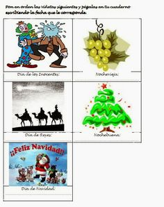 Les quichotteries de Delphine: Actividad Navidad