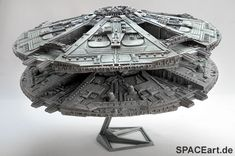 Battlestar Galactica: Cylon Base Star Display Model, Fertig-Modell ... http://spaceart.de/produkte/bsg003.php please repin!
