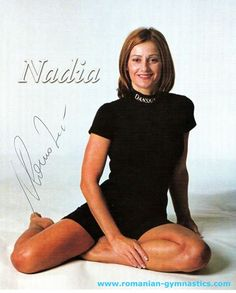 With you nadia comaneci young and hot