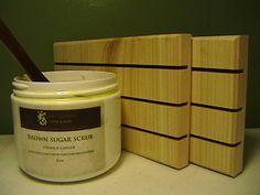 Six  LARGE Cedar Natural Wood Spa Soap Decks by PineBranchDesigns, $27.00