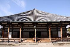 奈良。 元興寺。