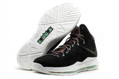 "Nike LeBron X EXT ""Black Suede"" QS 