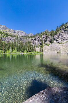 Snyder Lake in Glacier National Park