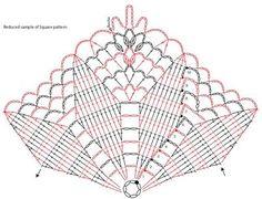 Chart of Square Stitches