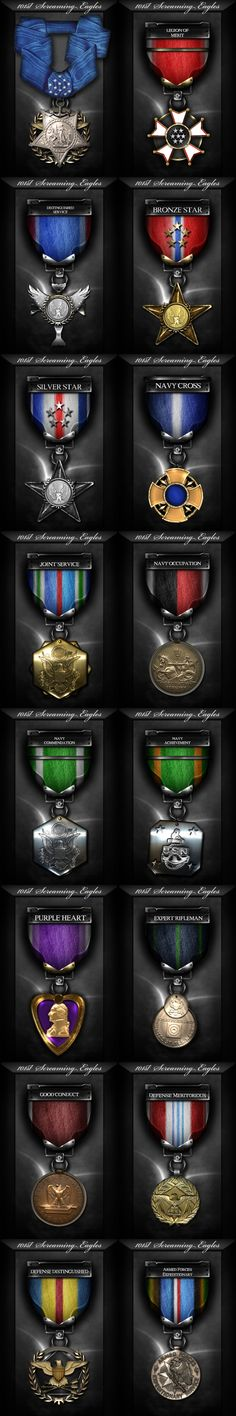 Another set of amazing Photoshop PSD clan gaming graphics, awards and medals.  This set of gaming medals was designed for the 101st Screaming Eagles PS3 gaming community. Designed around FPS and competitive gaming shooters like Socom: US Navy Seals and Call of Duty 4 / COD:MW2, these clan gaming medals & awards were perfect clan graphics to reward their gaming community for in-game feats.  Clan graphics, clan awards, clan ranks, gaming medals, clan medals, gaming ranks, photoshop medals Screaming Eagle, Us Navy Seals, Set Game, Colossal Art, Female Soldier, Art Icon, Game Design, Eagles, Pixel Art