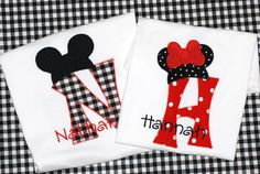 Personalized birthday Disney minnie mouse or mickey mouse shirt