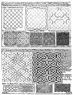 steps to drawing a design with symmetrical balance on graph paper ...