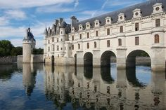 Chateau de Chenonceau - Castle in France.