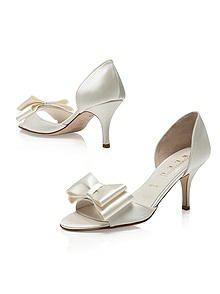 Cinnamon BowTie d'Orsay Bridal Shoe http://www.dessy.com/accessories/cinnamon/