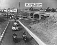 Hollywood Freeway, 1950