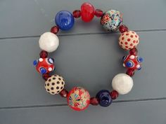 Japanese Decal and Ceramic Bracelet £12.00