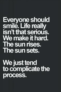 Let's Not Complicate Things