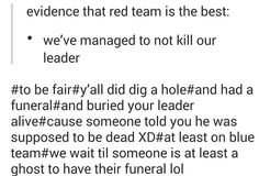 So true, proof Blue Team is better than Red Team
