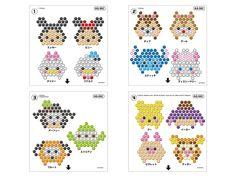 Perler Bead Templates, Diy Perler Beads, Perler Bead Art, Perler Patterns, Pony Bead Patterns, Peyote Stitch Patterns, Beading Patterns, Disney Diy Crafts, Seed Bead Projects