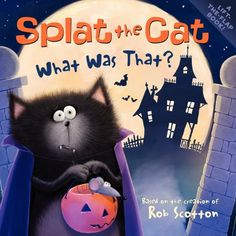 Splat the Cat: What Was That? by Rob Scotton http://www.amazon.com/dp/0061978639/ref=cm_sw_r_pi_dp_OmTvub0CAFXNZ