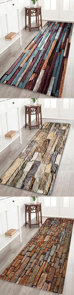 2018 New Arrival Brick Print Area Rugs | Twinkledeals.com | #homedecor #bathroomideas #rugs #twinkldeals