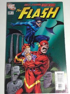 The Flash #228 DC Comics 2000 comic book VF/NM Nightwing
