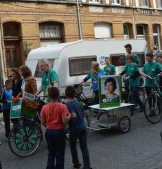 10.000 mensen vragen luid en duidelijk een overkapping van de Antwerpse ring. Nee tegen BAM! Uiteraard was Groen er talrijk aanwezig.