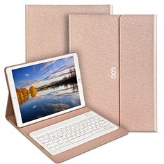 Coo Ipad Pro 12.9″ Keyboard Case Pu Leather Auto Wake / Sleep Smart Case with Bluetooth Keyboard  Exclusive design for Apple iPad Pro tablet, High quality PU leather cover and soft, microfiber-lined interior provide full protection for your tablet.Built-in magnetic strip boasts durable magnetic force, snaps on easily when closed. Stylish, colorful, wireless Bluetooth keyboard and housing bracket perfect combinationPrecise cut-off provides full access to all ports and features,Charg..