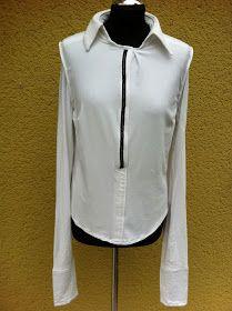 upper palatinate rocks: UPR rework: white jersey shirt with collar