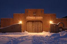 The Santa Fe Barn at Miracle Mountain Ranch, Spring Creek PA.  Every kid should experience this:)