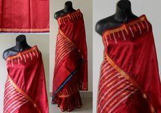 Soft Dupion silk Saree