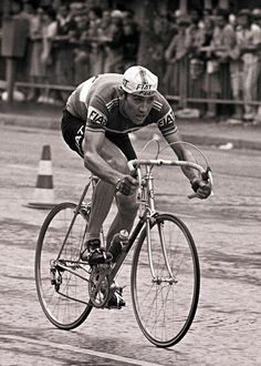 In my opinion, the greatest athlete of all time. I give you, the incomparable, EDDY MERCKX.