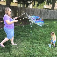 Bubble making magic  by @s_gurl